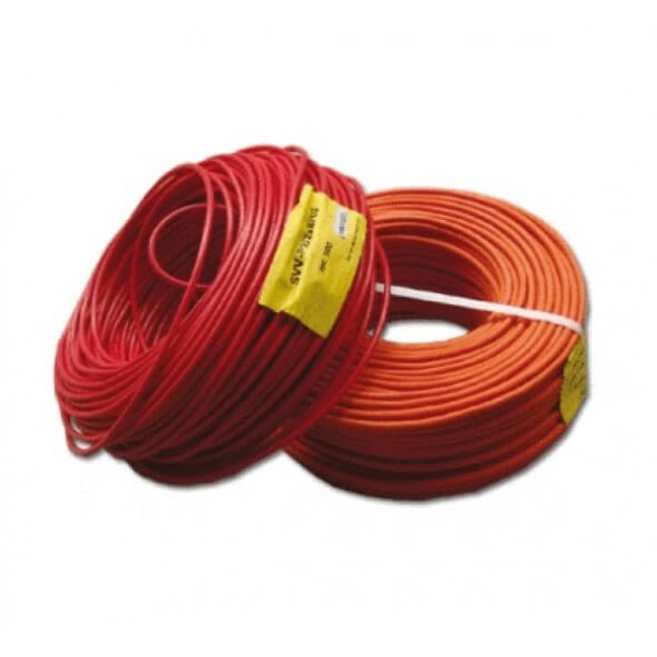 2x1,5 mm2 cable, twisted with screen, polyvinylchloride rated, flame retardant, (rolls by 200m), en50200 SD3